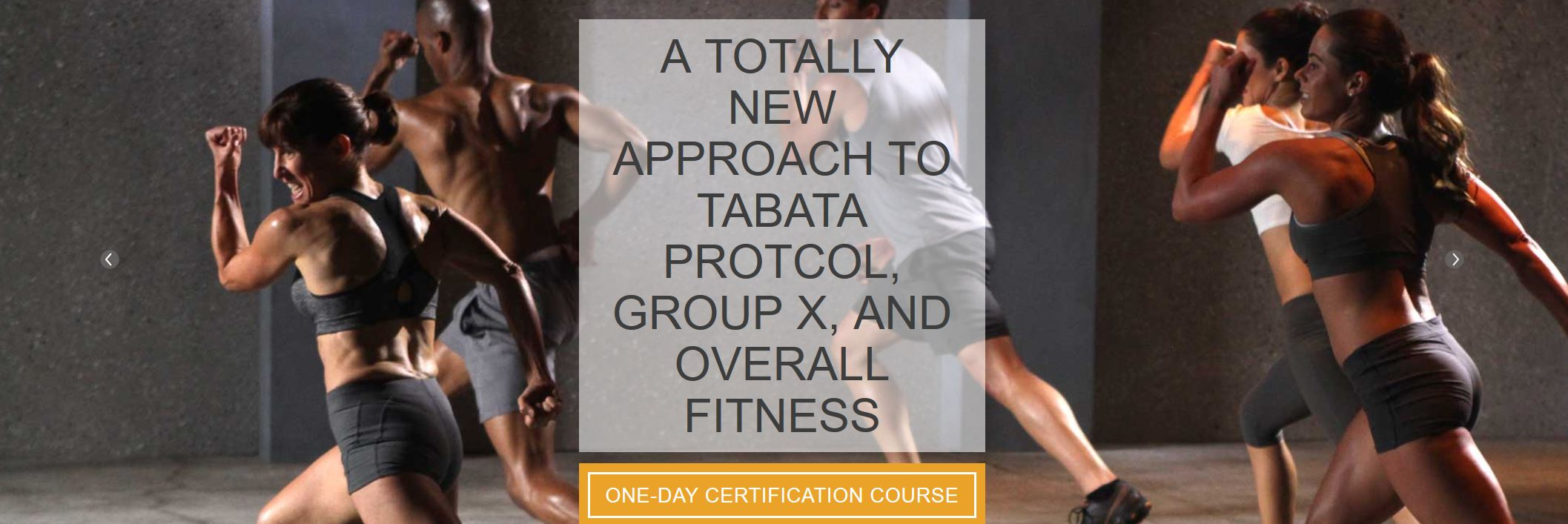 About The Tabata Gx Program
